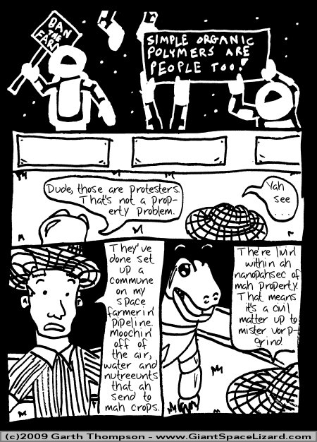 Space Adventures Hastily Drawn Stream of Consciousness - Greenspace - Page 06