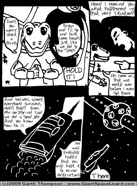 Space Adventures Hastily Drawn Stream of Consciousness - Greenspace - Page 07