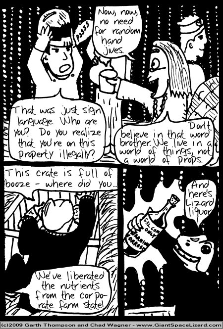 Space Adventures Hastily Drawn Stream of Consciousness - Greenspace - Page 10