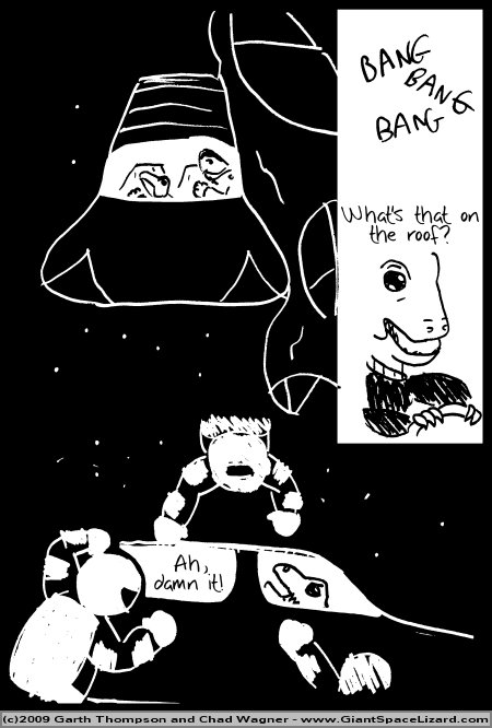 Space Adventures Hastily Drawn Stream of Consciousness - Greenspace - Page 16