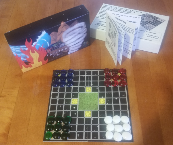Elemental Halma - New Print & Play Board Game
