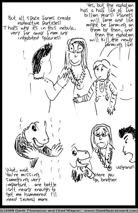 Space Adventures Hastily Drawn Stream of Consciousness - Greenspace - Page 13