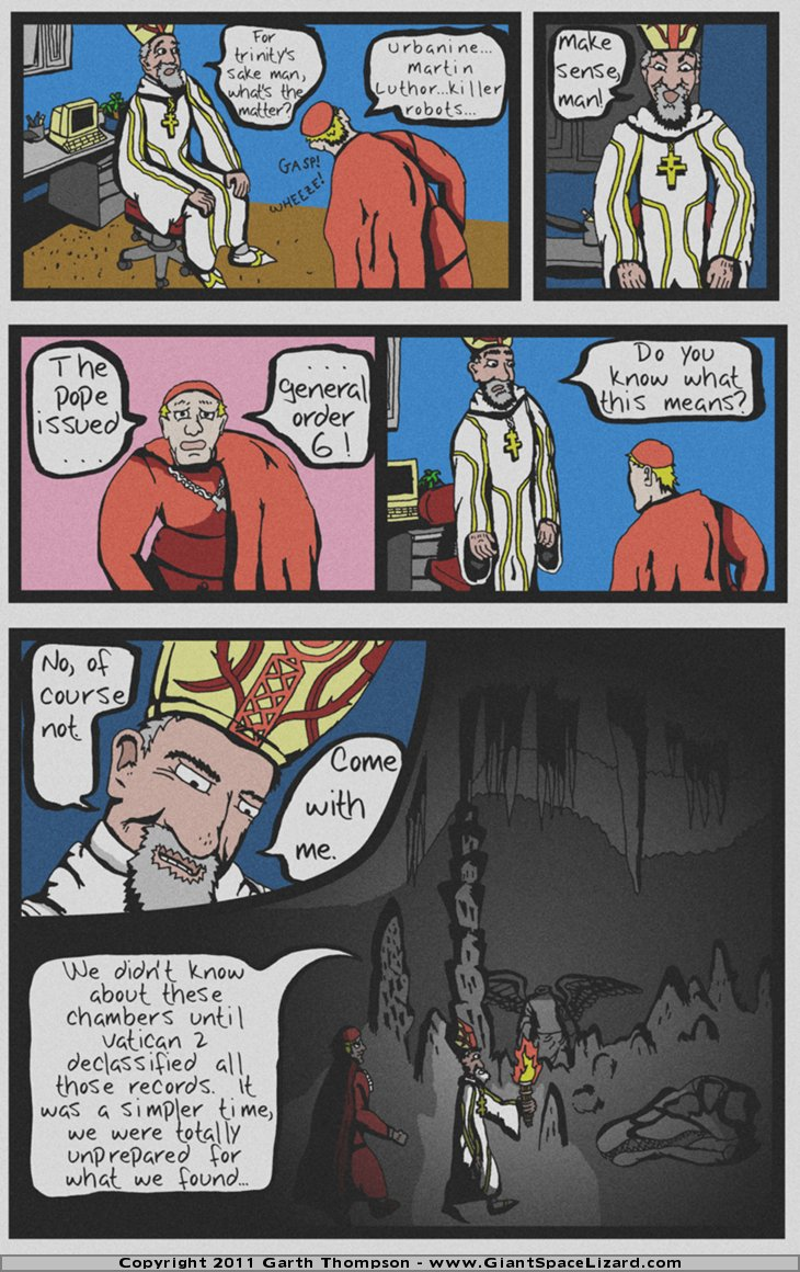 Archbishop Triceratops - The Paleocene Creed - Page 05