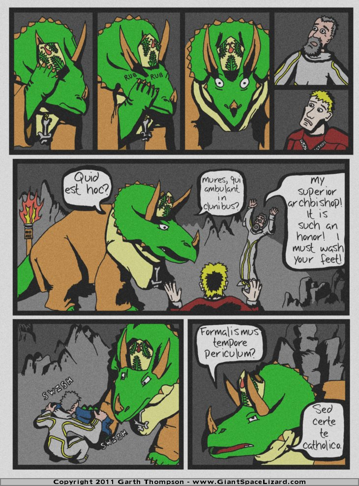 Archbishop Triceratops - The Paleocene Creed - Page 08