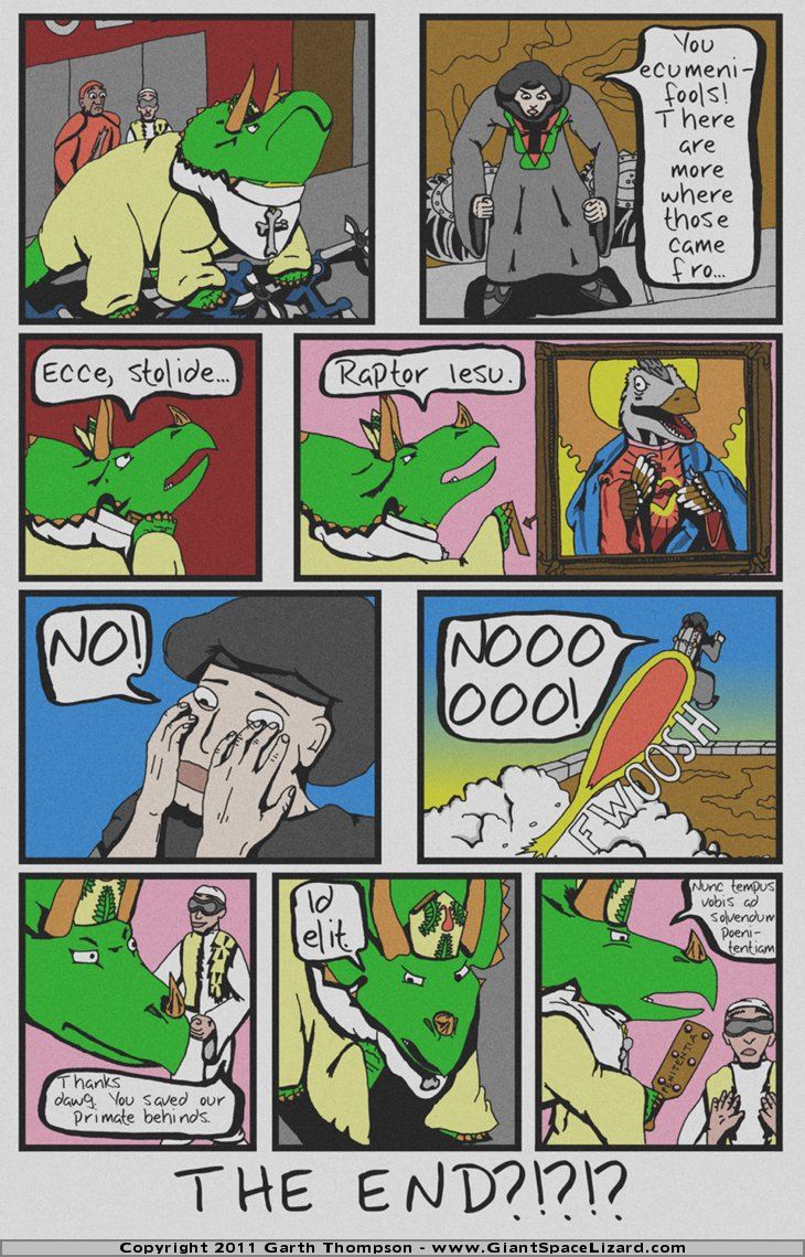 Archbishop Triceratops - The Paleocene Creed - Page 10